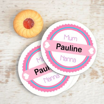 Personalised Mum Coasters